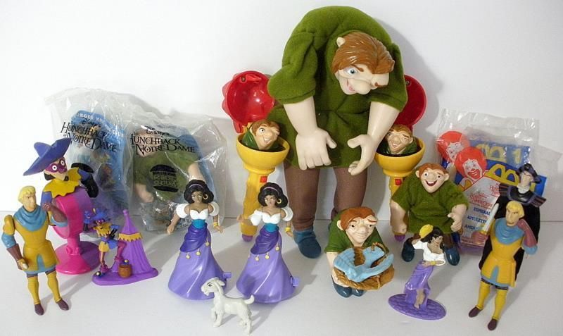 7200eda82eacc Burger King And McDonald's Disney The Hunchback Of Notre Dame Toys ...