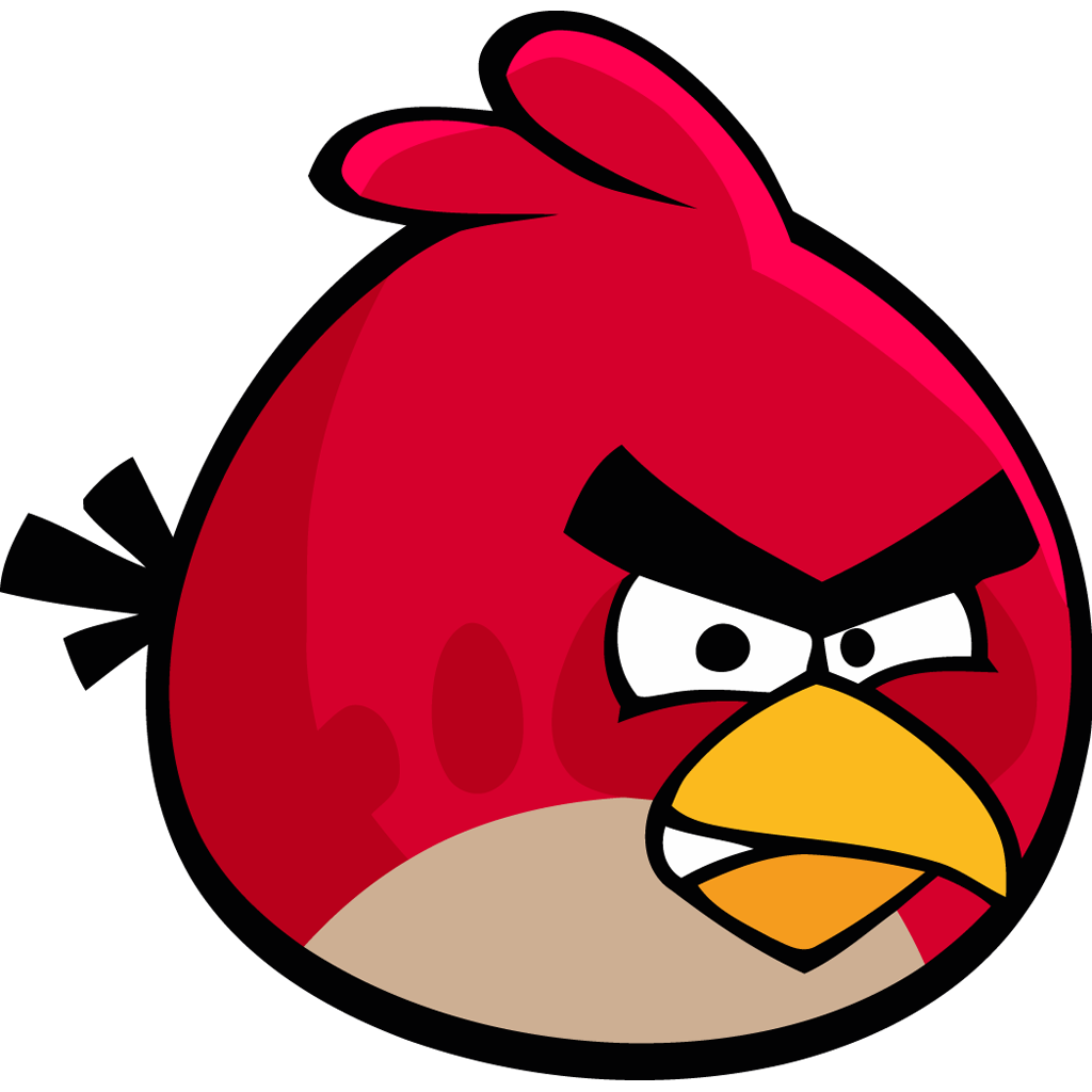 The Lady Wolf S Free Svgs Angry Birds Svgs Updated Bird Template Bird Coloring Pages Angry Birds