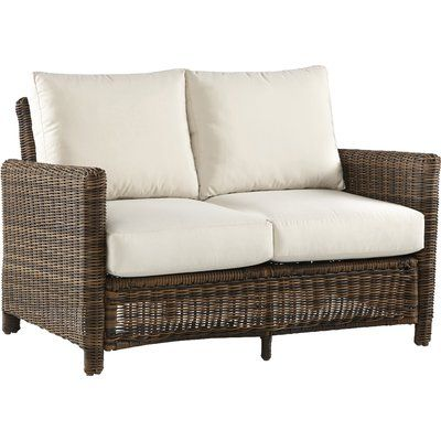 Bay Isle Home Spring Del Ray Loveseat with Cushions Color ...