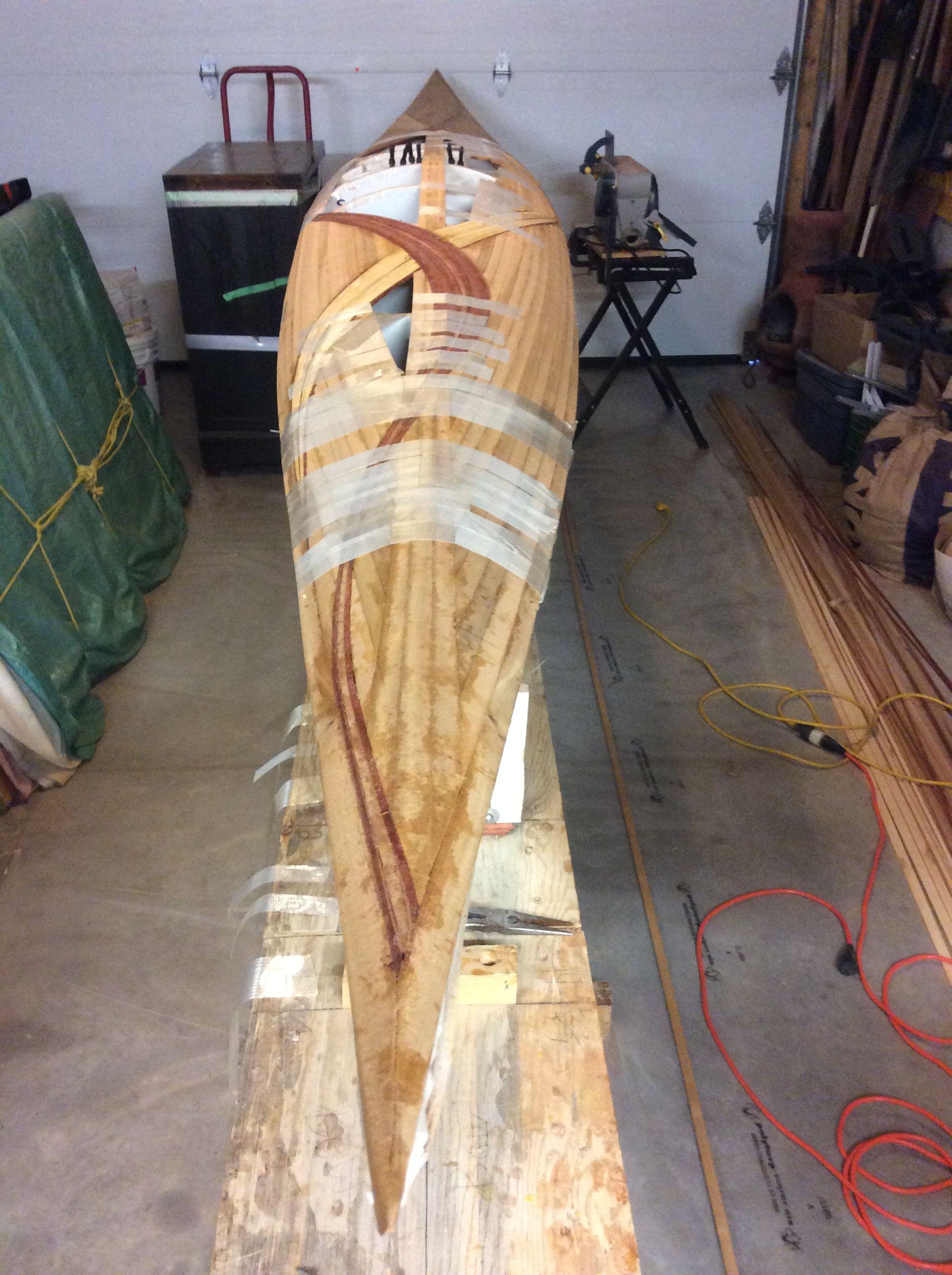 Pin af Bill Manley på Building My Kayak