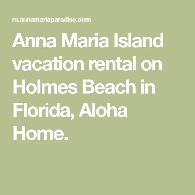 Anna Maria Island Beach: Anna Maria Island Vacation Rental On Holmes Beach In
