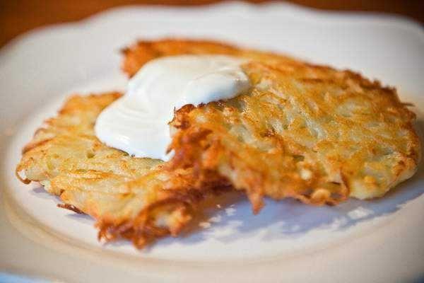 Драники из картофеля простой рецепт пошагово