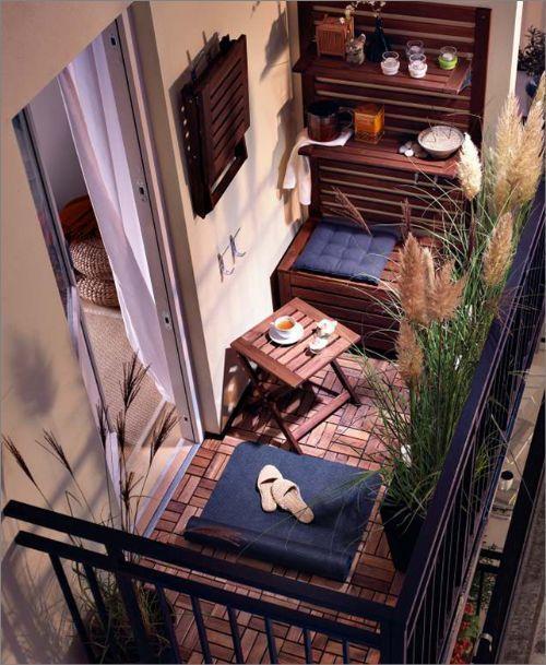 Santa Mariah Kaution: Kleiner Balkon! - Natalia Campoverde #kleinerbalkon