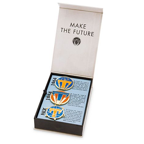 Two New Tomorrowland Pin Sets Released