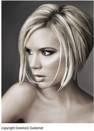 Victoria Beckham Love The Hair Bob Von Hinten Angeschragt