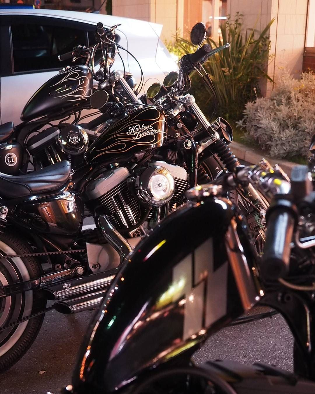 Double Tap And Tag Your Friends Below Credits To The Amazing Owner No Road Bike Week Led Headlights Harley