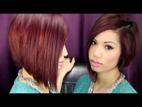 All About My Hair Cut Color Styling Care Routine She Uses Garnier Nutrisse Ultra Medium Intense Auburn From Tips To Roots
