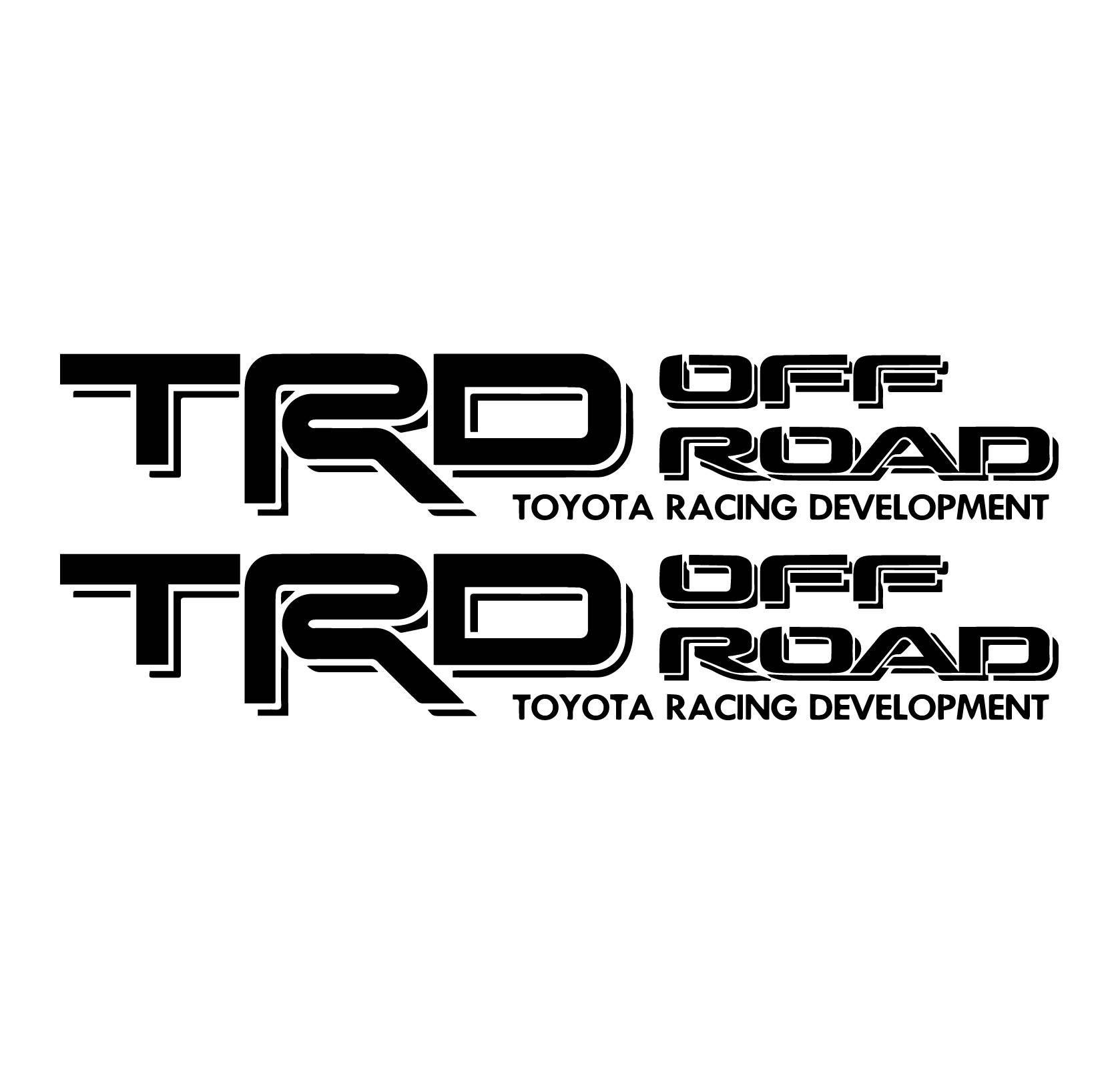Toyota Window Decal Sticker Vinyl Custom TRD X Tacoma Tundra - Vinyl decals for race carspopular trd vinyl decalbuy cheap trd vinyl decal lots from china