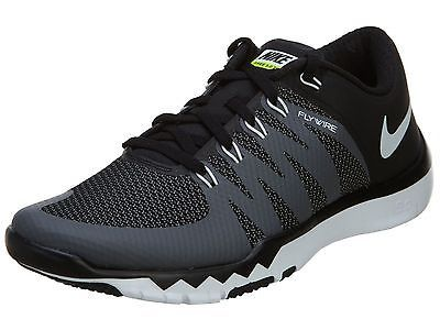 Impresionismo Abundante Ilegible  Nike Free Trainer 5.0 V6 Mens 719922-010 Black Flywire Training ...