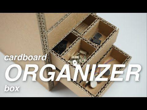 Hoe Cardboard Organizer te maken   Hoe Cardboard Organizer te maken