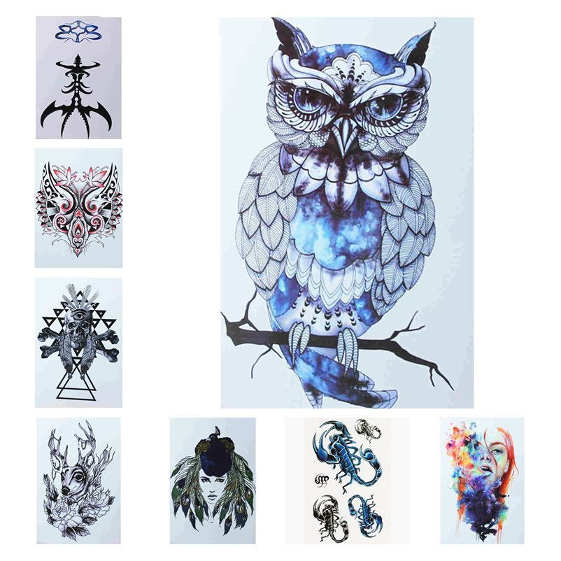 Yan & Lei Temporary Tattoo Sticker Sets-E