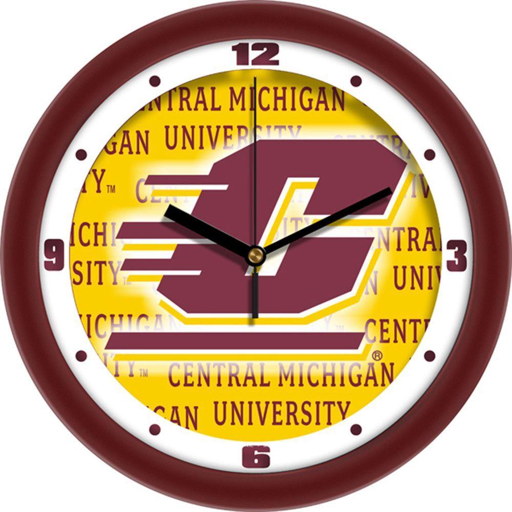 Central Michigan Chippewas NCAA Dimension Wall Clock