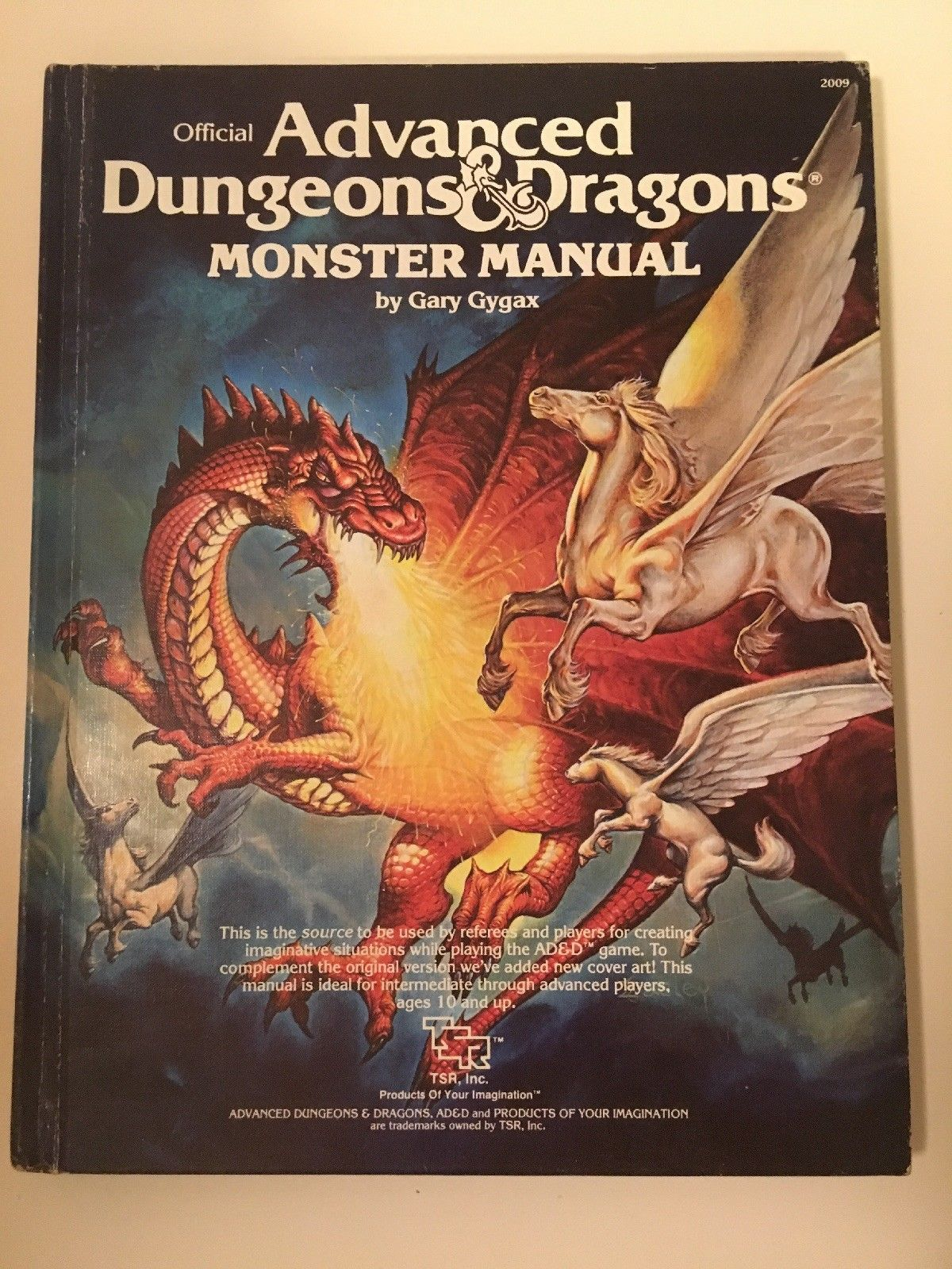 Monster Manual Advanced Dungeons & Dragons 4th Edition (1979) TSR AD&D  Within the covers