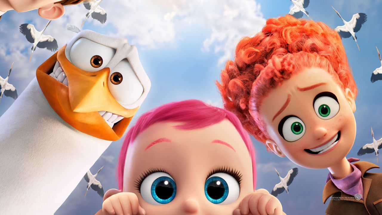 Storks best animation movies of 2016