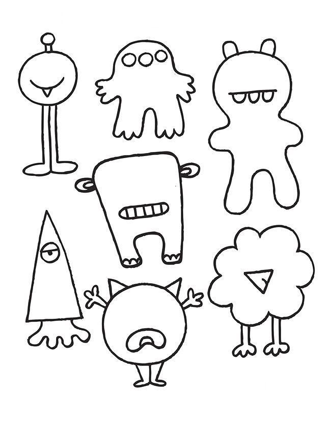 Sevimli Canavarlar Yapalim Obst Zeichnen Malvorlagen Fur Kinder Basteln Fur Kindergartner Kinder Aktivitaten