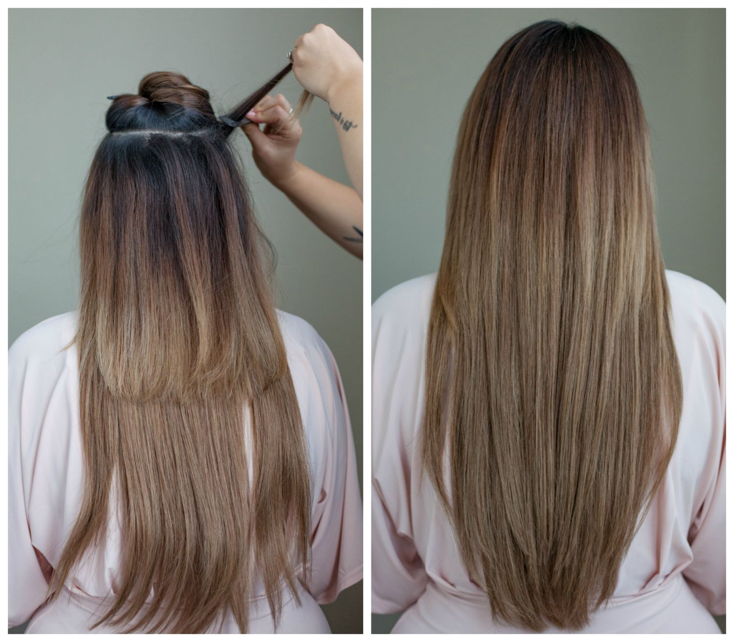 Beauty How To Clip In Extensions Gumboot Glam A Vancouver Based