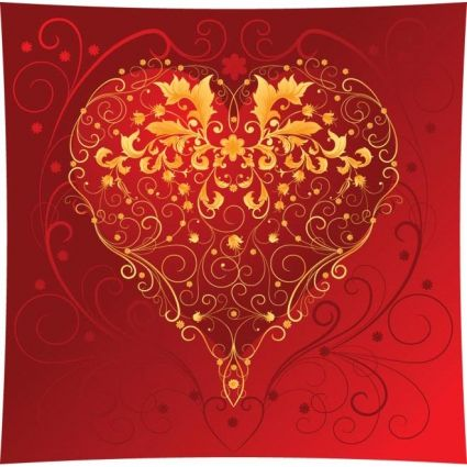 Love Rose Heart Wallpaper Free Vector For Free Download About 20