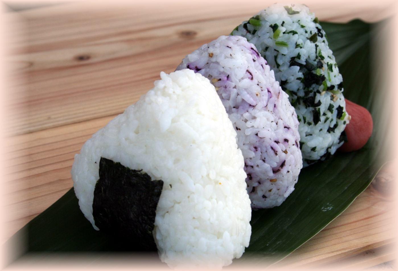 Легкие японские блюда из риса с фото
