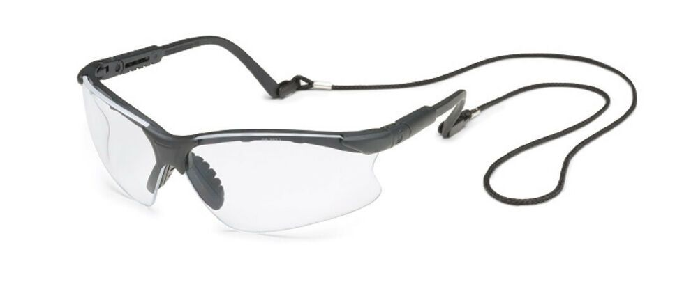 SAFETY GLASSES W//RED MIRROR LENS BLK FRAME /& RETAINER GATEWAY/'s SCORPION