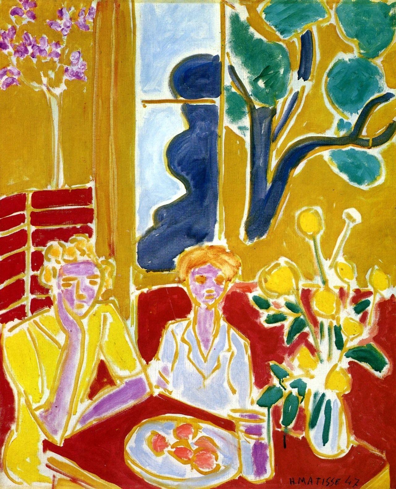 Two Women - Matisse | MATISSE | Pinterest | Henri matisse, Pintor y ...