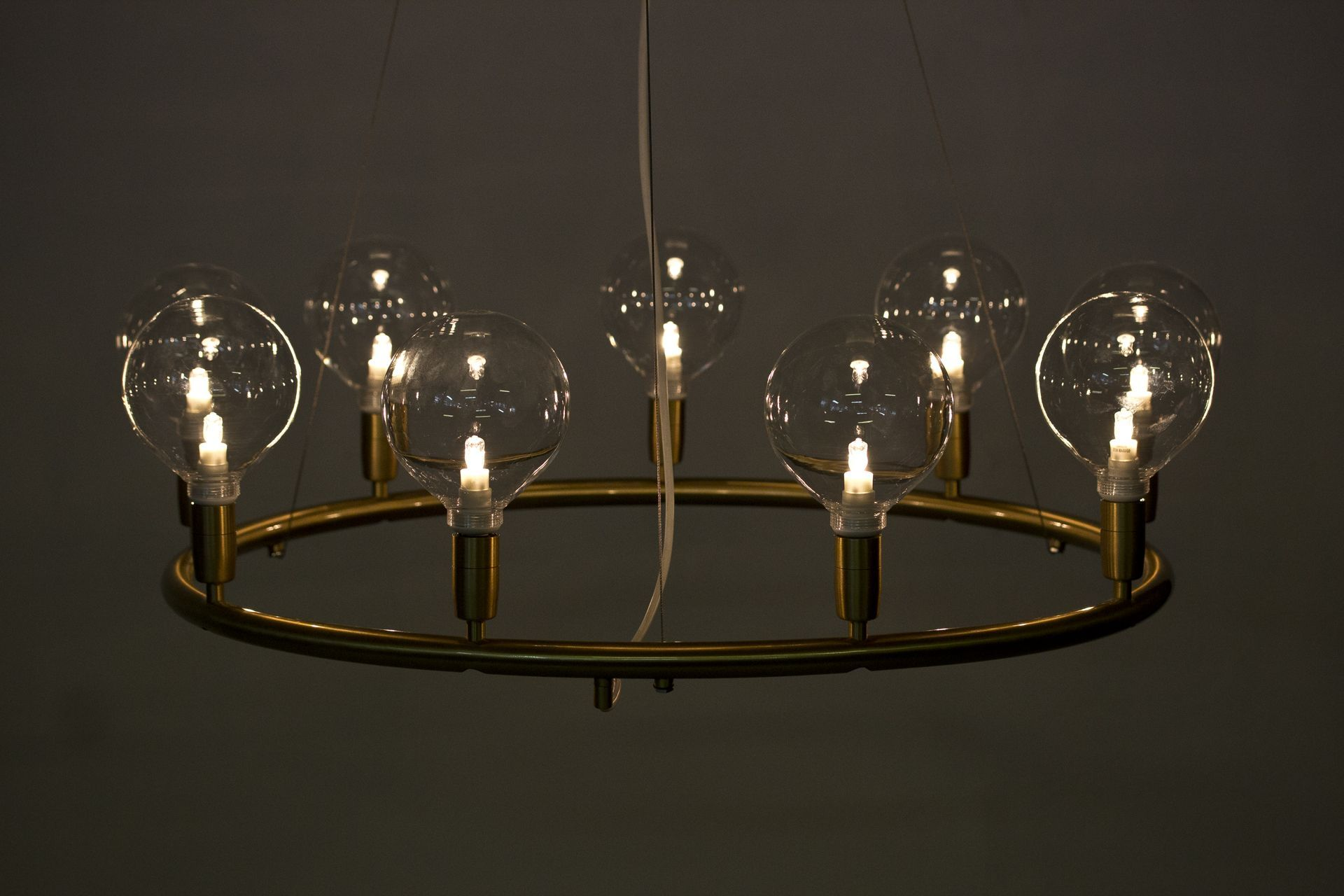 1950s chandelier by Hans Bergström via modernisten on the