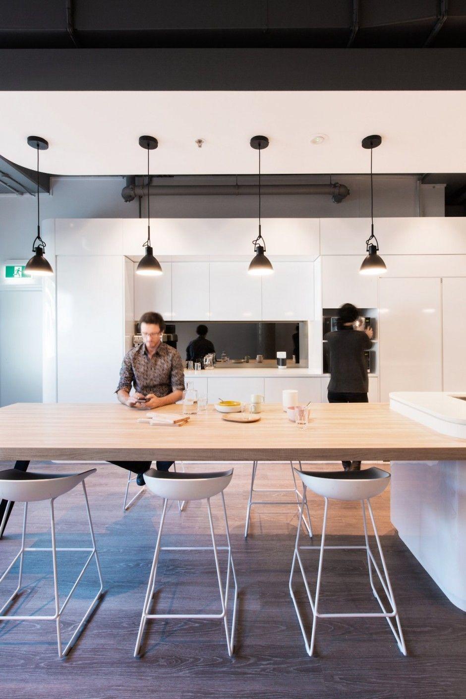 Zimmer Head Office By: Gray Puksand | Break Room | Pinterest | Gray ...