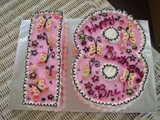 Carrie'd Away Cakes: Pretty Little Birthday Cakes - Happy 18th!
