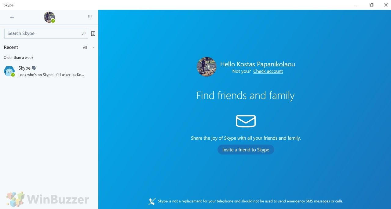 Microsoft Updates Skype for Windows 10 UWP App with Improved UI and