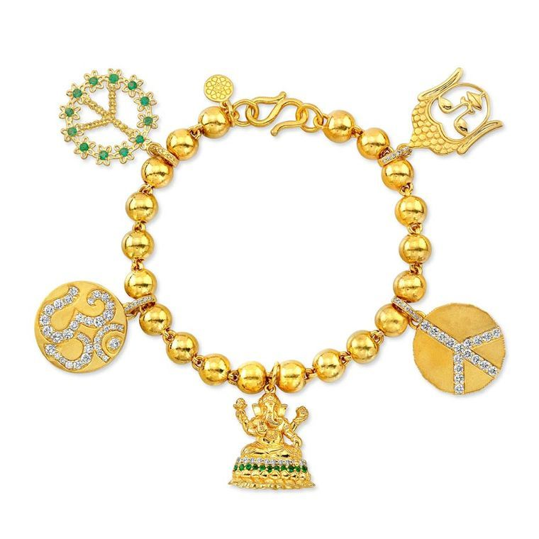 Gold jewelry with great karma Buddha Mama launches in New York