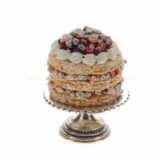 Exquisitas miniaturas: Don Henry Sterling soporte de la torta