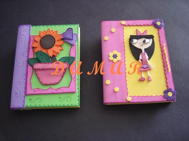 Moldes para decorar un cuaderno con foami imagui - Libros para decorar ...