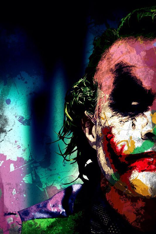 Colourful Joker Iphone Wallpaper Joker Face Joker Wallpapers