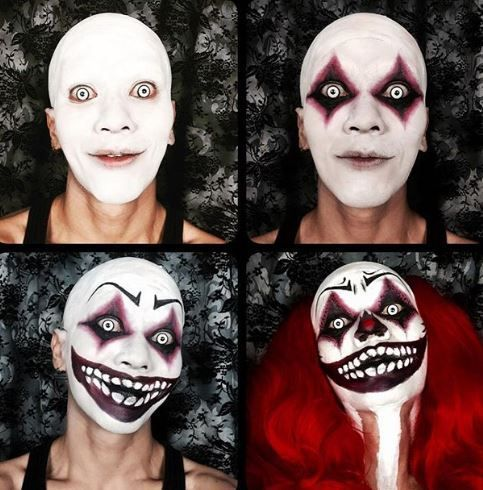 schminke fasnacht in 2019 halloween makeup scary. Black Bedroom Furniture Sets. Home Design Ideas