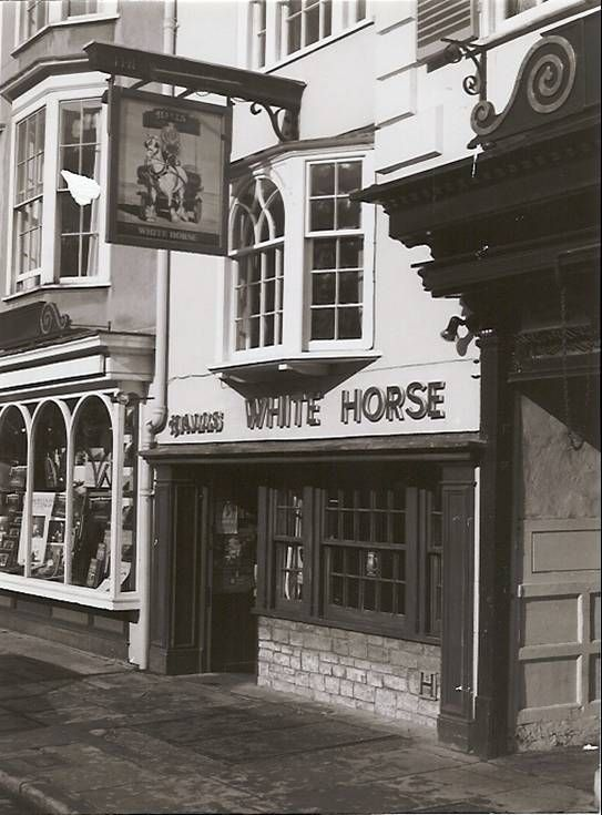 White Horse Pub. Tolkien read The Lord of the Rings aloud here in 1944.