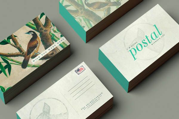 Elegant The Secret Garden   Business Cards By Booth