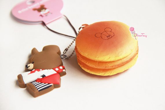 rare bears u0026 39  school pancake squishy comes with the kawaii jackie  bendable  as an accessory