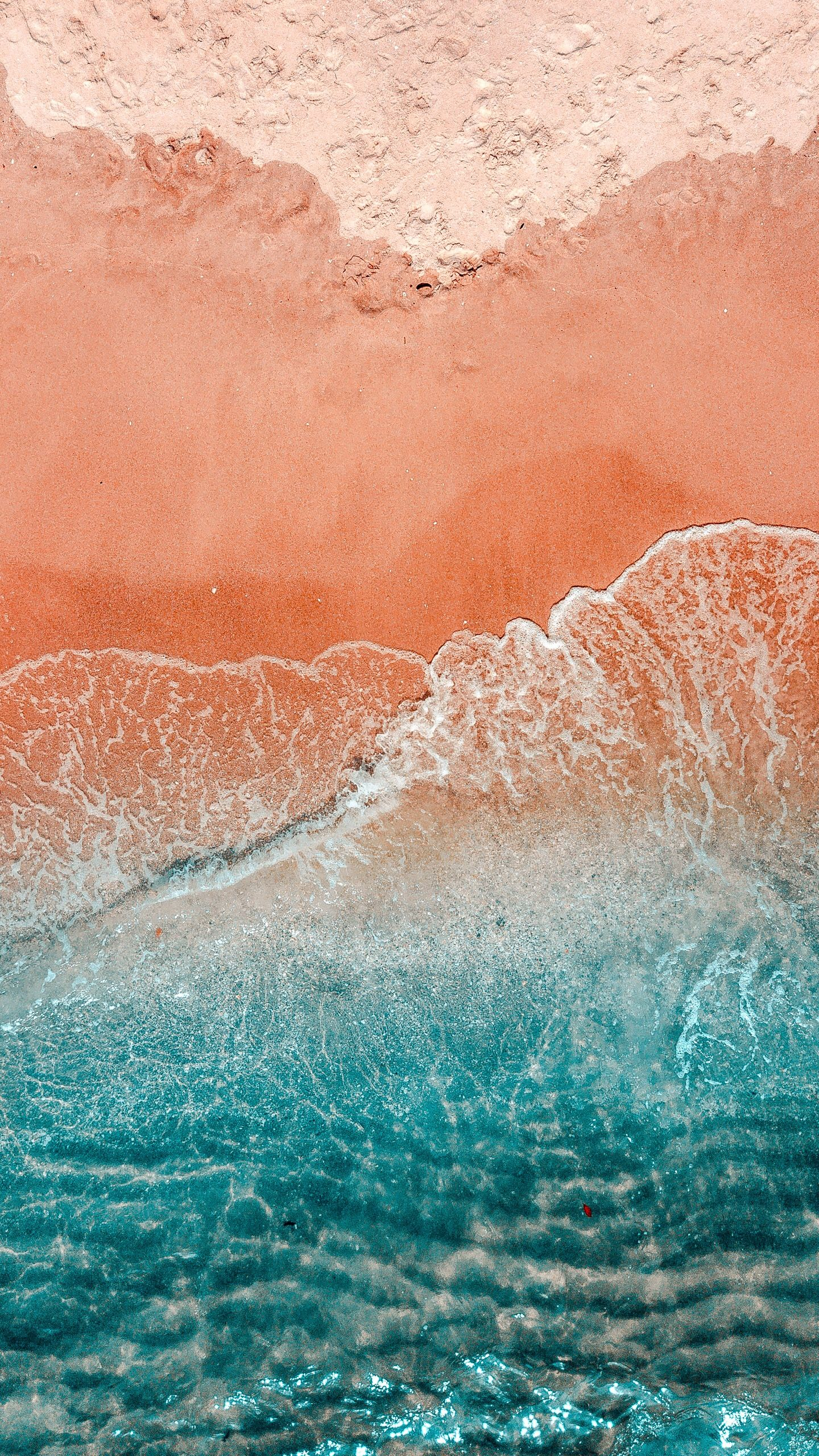 Ocean Sand Wallpaper Retro Active Art Design Decor