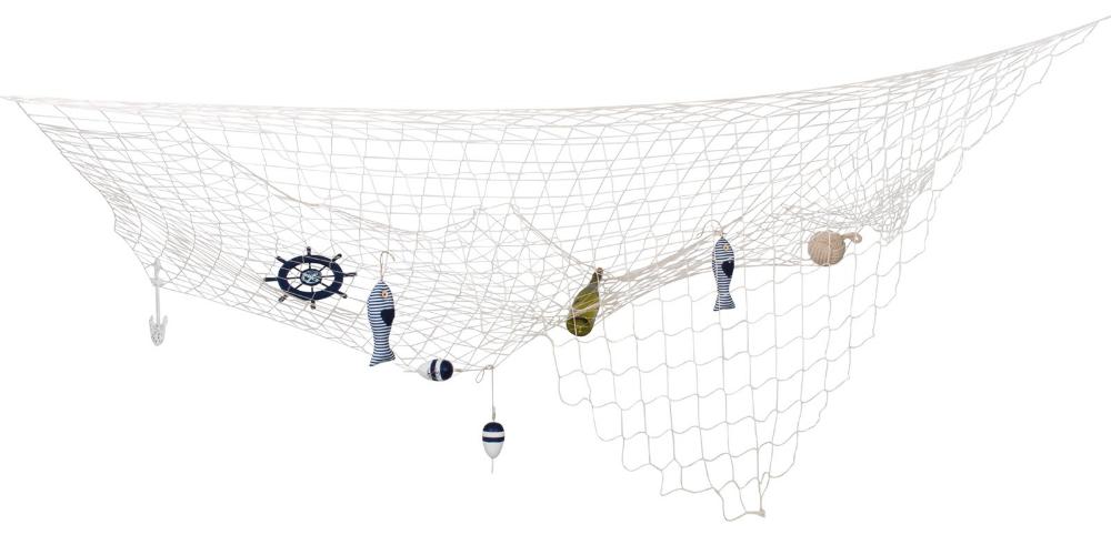 Im Lieferumfang Enthalten Netz Im Lieferumfang Nicht Enthalten Bunte Maritime Dekoration In 2020 Fischernetz Partydeko Maritime Deko