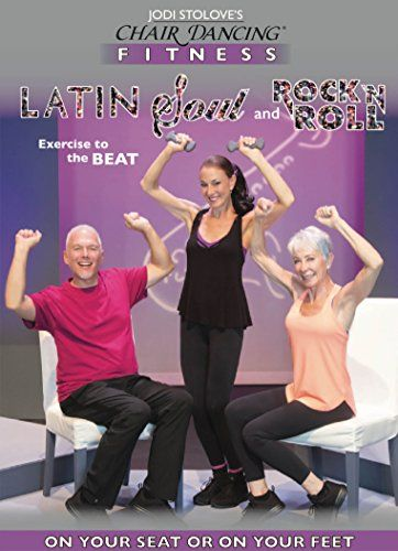 Chair Dancing Fitness Express Latin Soul And Rock N Roll Want Additional Info Click On The Image Dance Routines Low Impact Workout Workout Dvds