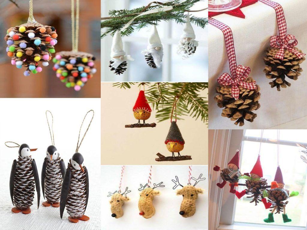 9 ideas de decoraci n navide a econ mica y bonita - Decoracion navidena natural ...