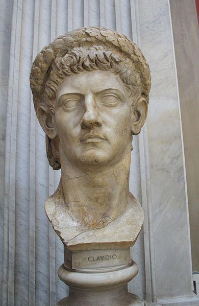 Claudius (Tiberius Claudius Caesar Augustus Germanicus) 10 BC-54 AD Nephew  of Tiberius, brother of Germanicus and Uncle of Caligula; …   Ancient rome,  Roman history, Roman empire