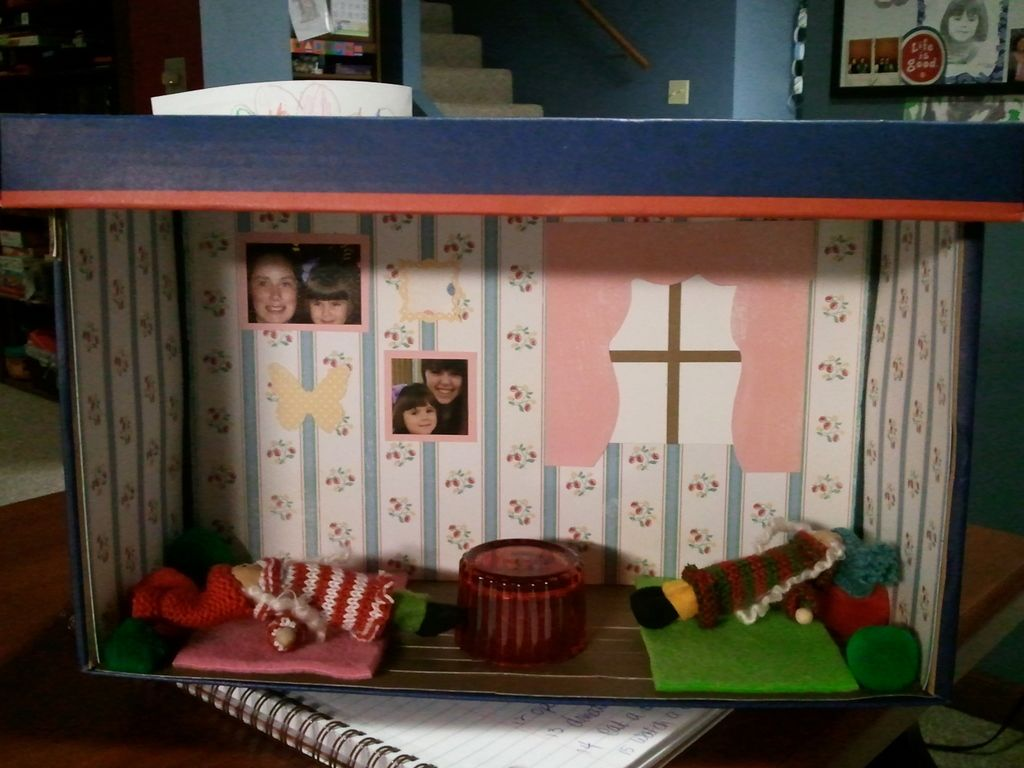 Shoe Box Dollhouse Craft For Kids: Make Your Own Doll House