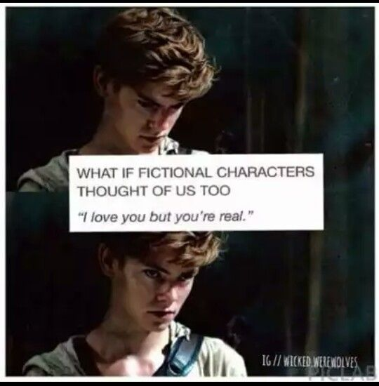 NEWT JUST SAID HE LOVES ME! I LOVE HIM TOO! We're perfect together!