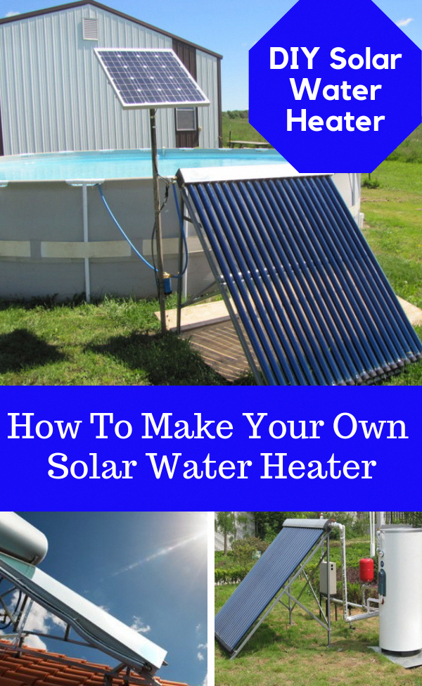 Solar Water Heater Building Your Own Solar Water Heating Panel Is Not Beyond Anyone With Basic Diy Han In 2020 Solar Water Heater Diy Solar Water Heater Solar Heating