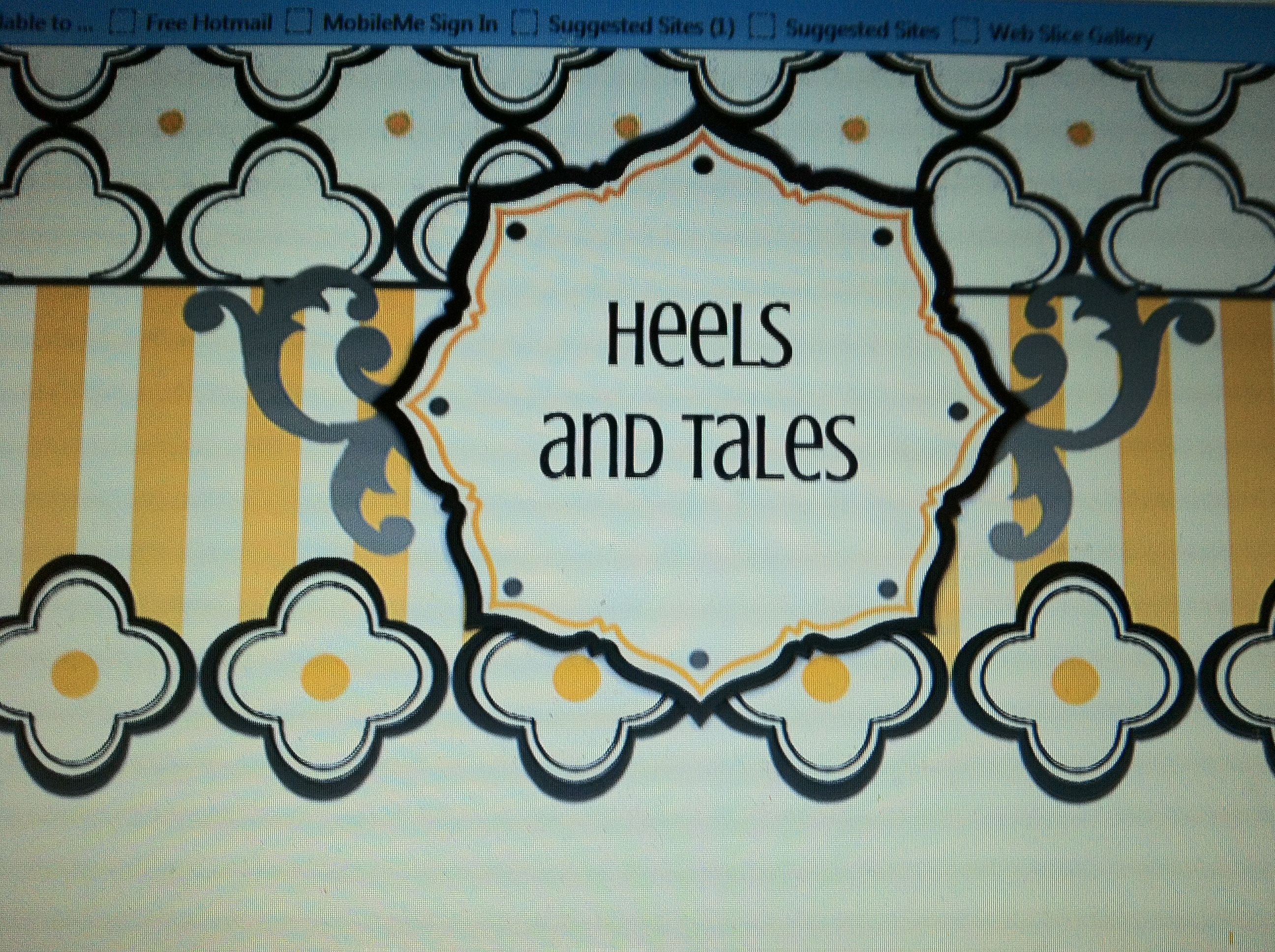 Heels and Tales - My blog on fashion and stories about my life adventures.