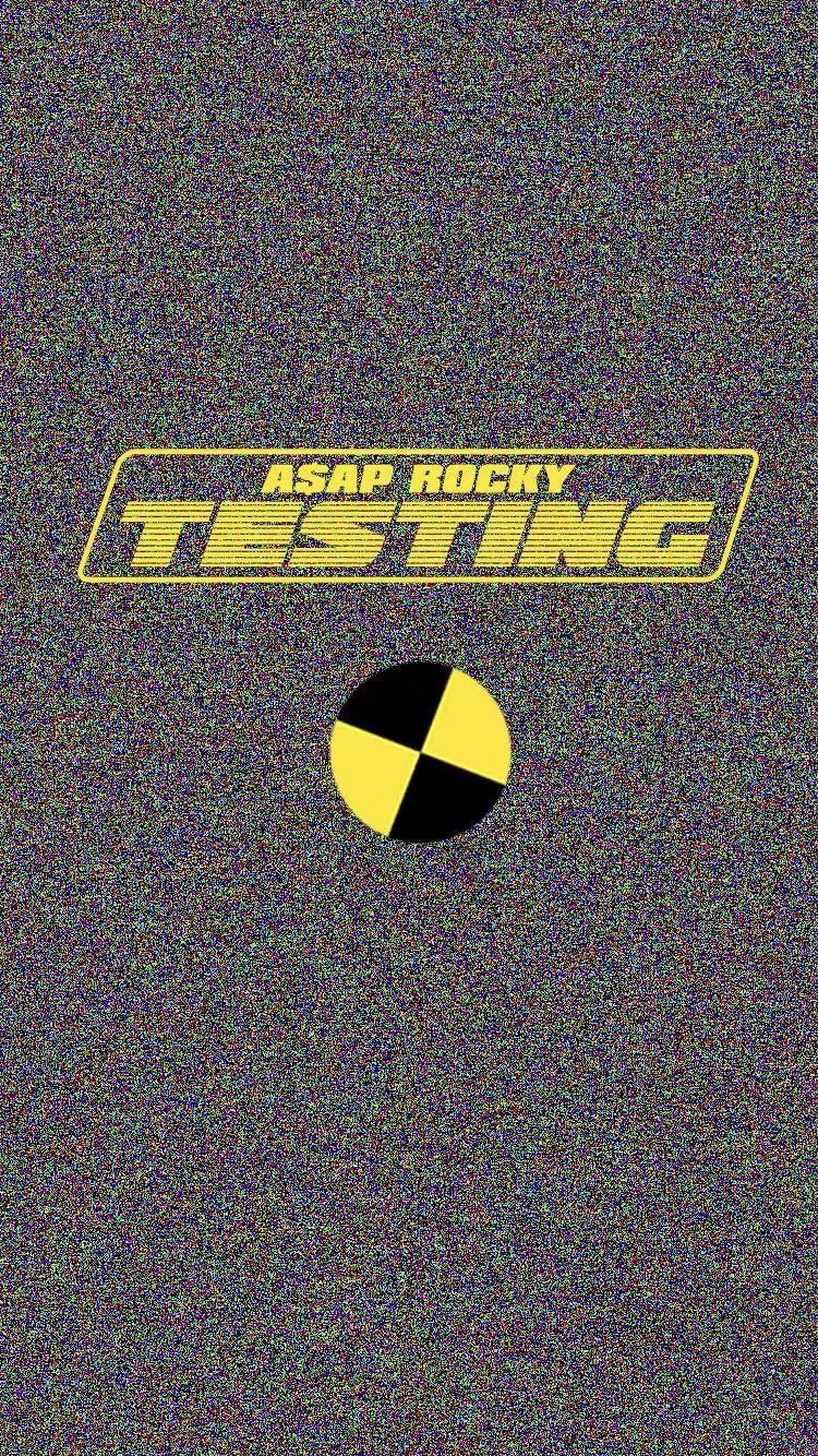 ASAP Rocky Testing Wallpaper ⚡️ Asap rocky wallpaper