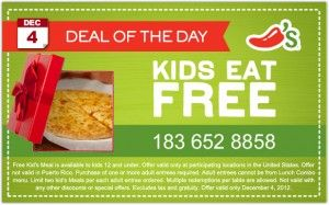 Steals and Deals at Chili's