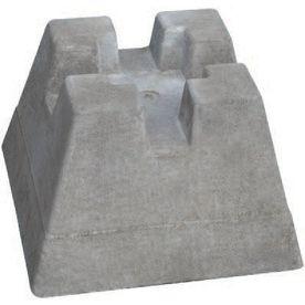 Handi Block Gray Lightweight Concrete Support Block Concrete Deck Floating Deck Concrete Deck Piers