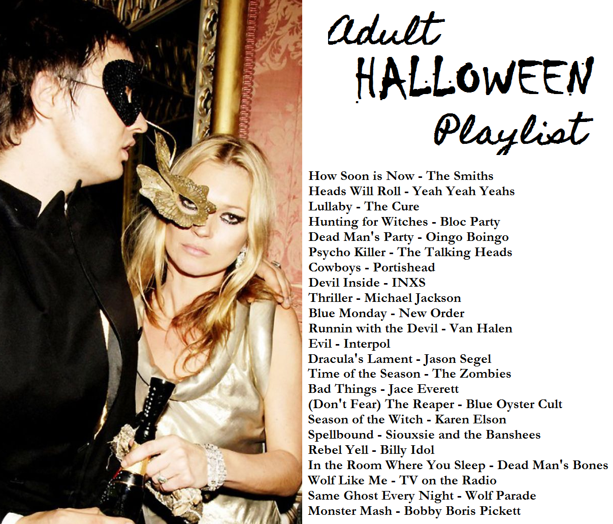 Adult Halloween Party Playlist