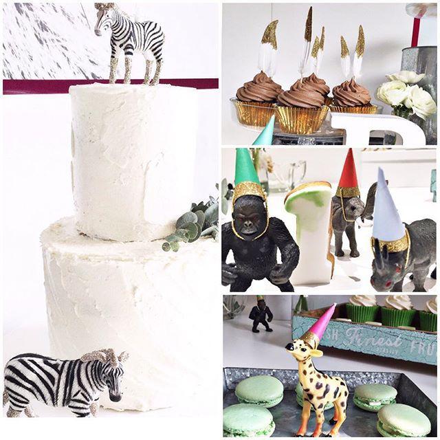 Cute 1st birthday party. Styling by @pinkpumpkinweddings #childrensbirthdaycakes #party #cute #animals #sweettreats #pinkpumkinweddings #cutedetails
